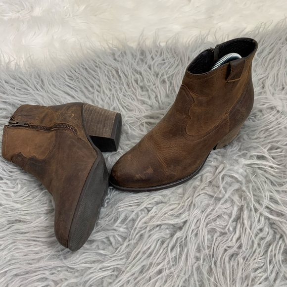 Altar'd State Shoes - Altar'D State Ankle Cowboy Booties